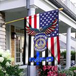 Indianapolis Metropolitan Police Department 3D Flag Full Printing HTT-FCT06