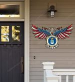 United States Air Force Proudly Served Cut Metal Sign