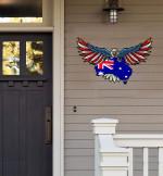 Australia Cut Metal Sign HQT01JUN49TT7