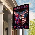 Southern Proud Confederate Eagle 3D Flag Full Printing HTT04JUN21XT1