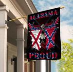 Alabama Proud Confederate Eagle 3D Flag Full Printing HTT04JUN21XT5