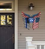 Minneapolis Police Department Eagle Flag Cut Metal Sign HTT04JUN21XT10