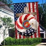 US Marine Corps Eagle 3D Flag Full Printing HTT005JUN21VA7
