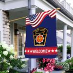Pennsylvania State Police 3D Flag Full Printing HTT05JUN21VA5
