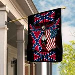 Southern Pride Heritage Not Hate Confederate Eagle 3D Flag Full Printing HTT07JUN21TT1