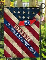 Tennessee 3D Flag Full Printing HQT07JUN21TQ10