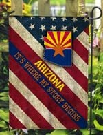Arizona 3D Flag Full Printing HQT07JUN21TQ12