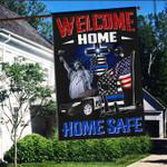 Welcome Home Police 3D Flag Full Printing HTT02JUN21VA2