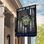 New York City Police Department 3D Flag Full Printing HTT10JUN21TT2