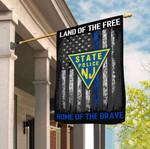 New Jersey State Police 3D Flag Full Printing HTT10JUN21TT3