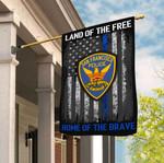 San Francisco Police Department 3D Flag Full Printing HTT10JUN21TT5