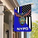 New York City Police Department 3D Flag Full Printing HTT14JUN21TT1