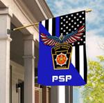 Pennsylvania State Police 3D Flag Full Printing HTT14JUN21TT3