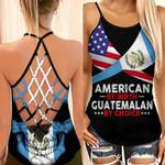 American By Birth Guatemalan By Choice Woman Cross Tank Top HTT14JUN21XT4