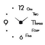 Wall Clock Metal Quartz Watch Clocks 3d