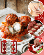 Quick and Easy Meatball Molder