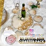 DIY Crystal Resin Coaster Pack