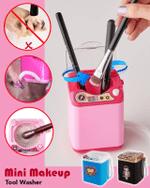 Mini Makeup Tool Washer