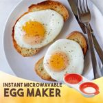 Instant Microwavable Egg Maker