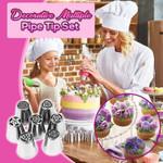 Decorative Multiple Pipe Tip Set