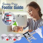 Sewing Press Footer Guide
