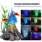 Volcano Aquarium Décor