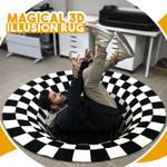 Magical 3D Illusion Rug
