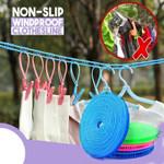 Non-Slip Windproof Clothesline