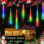 Festive Icicle Led Lights