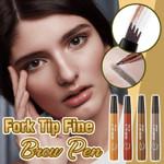 Fork Tip Fine Brow Pen