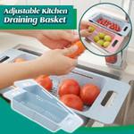 Adjustable Kitchen Draining Basket