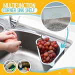 Multifunction Corner Sink Shelf