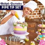 Multiple Decorative Pipe Tip Set