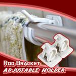 Rod Bracket Curtain Holder