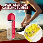 Portable Pill Case and Tumbler