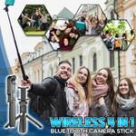Wireless 4in1 Bluetooth Camera Stick