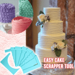 Easy Cake Scrapper Tool
