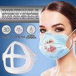 Breathable Face Cover Bone