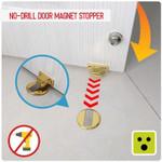 No Drill Door Magnet Stopper