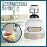 Easy Rotatable Tap Head