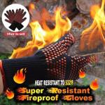 Super Resistant Fireproof Gloves