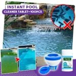 Instant Pool Cleaner Tablet-100pcs