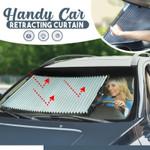Handy Car Retracting Curtain
