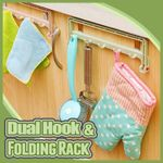Dual Hook and Folding Rack