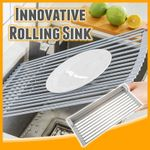 Innovative Rolling Sink Rack