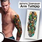Artistic Temporary Arm Tattoo