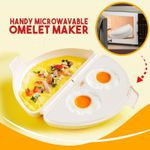 Handy Microwavable Omelet Maker