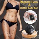 Organic Lava & Coffee Body Bar