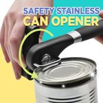 Safety Stainless Can Opener