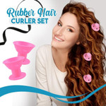 Rubber Hair Curler Set